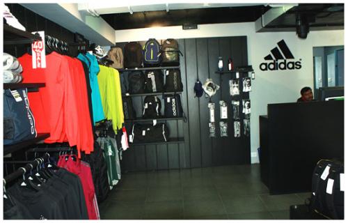 adidas showroom